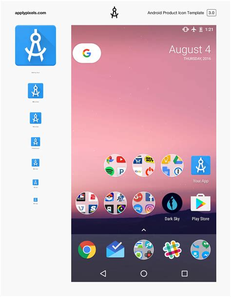 android app icon template android product icon apply pixels