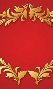 3D Vintage Floral Vector graphic Ruby Red Background ...