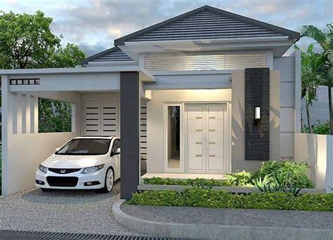 19 model rumah minimalis tak depan terbaik saat ini