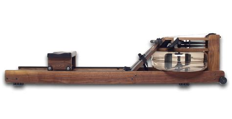 Modern Wooden Benches by Waterrower Classic Black Walnut