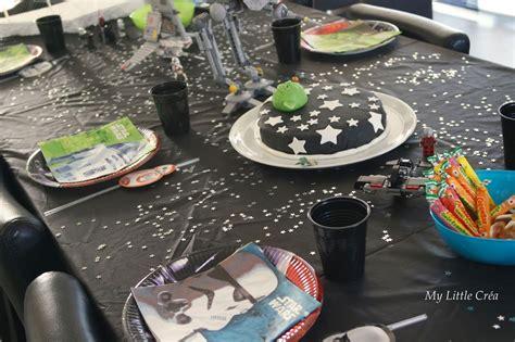 crea decoration de table star wars