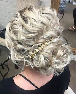 28 Curly Updos For Curly Hair See These Cute Ideas For 2019