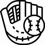 Baseball Glove Icon Flaticon Icons