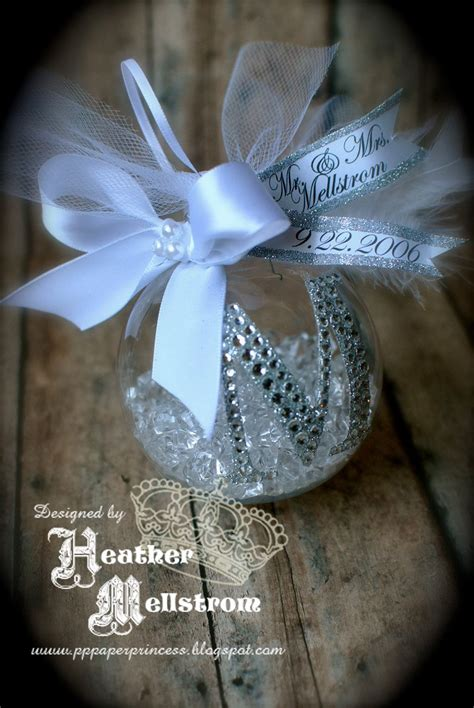 rhinestone monogram christmas ornament loooove
