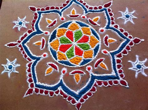 Nice Rangoli Design Wallpaper