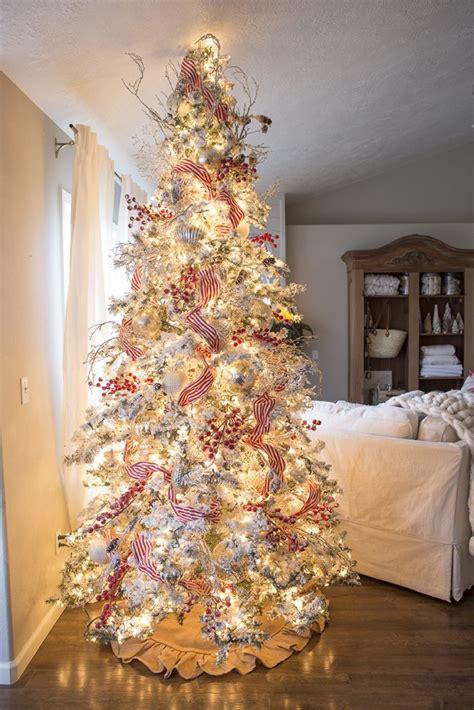 tips  beautiful christmas tree ribbon ella claire