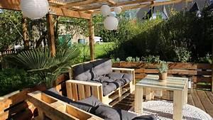 Paletten Möbel Selber Bauen : terrasse aus paletten selber bauen palettenm bel diy anleitung ~ Orissabook.com Haus und Dekorationen