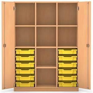 Schrank 100 X 50 : mittelhoher schrank 143 9 x 108 5 x 50 cm mit 12 boxen und 7 b den g nstig online kaufen ~ Bigdaddyawards.com Haus und Dekorationen