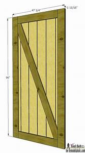 remodelaholic simple diy barn door tutorial With barn door width