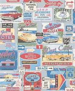 American Diner Wallpaper : fun and bright 1950 39 s american diner style wallpaper by galerie terry 39 s place pinterest ~ Orissabook.com Haus und Dekorationen