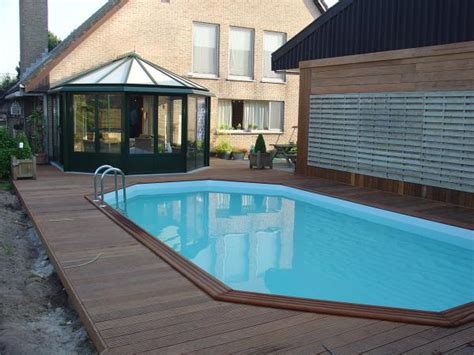 piscine en bois construction de piscine en bois