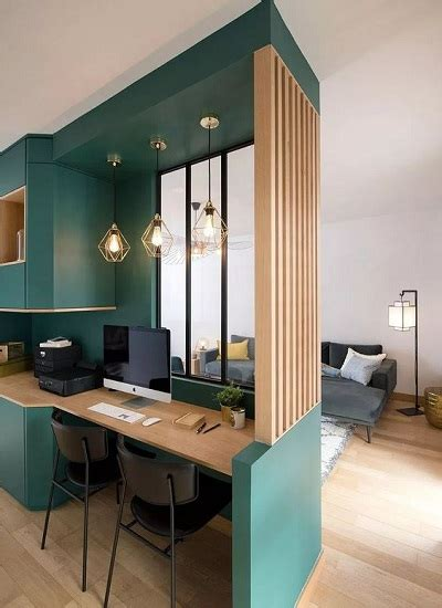 salonchambre  idees deco pour amenager  coin bureau