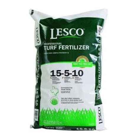lesco 15 5 10 turf fertilizer 026760 the home depot