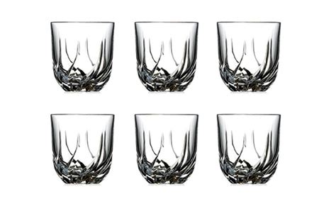 bicchieri chagne rcr decanter or tumblers groupon goods