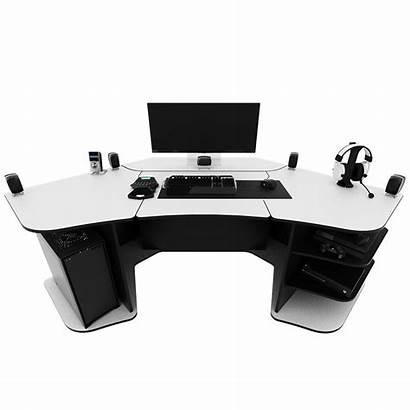 Gaming Desk Setup Astronaut R2 Pc Motorized