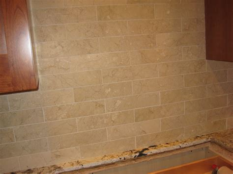 kitchen wall tiling calacatta marble subway tile grout color 3461