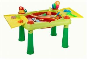 Table Jeux D Eau : table de jeux sable et eau keter table d activit s ext rieur ~ Melissatoandfro.com Idées de Décoration