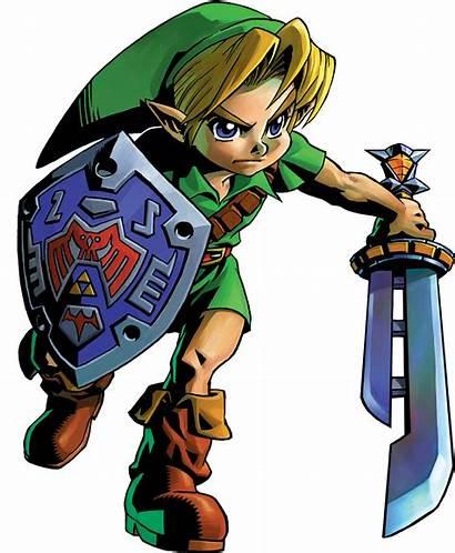 Zelda Majora Link Mask Legend Ocarina Young