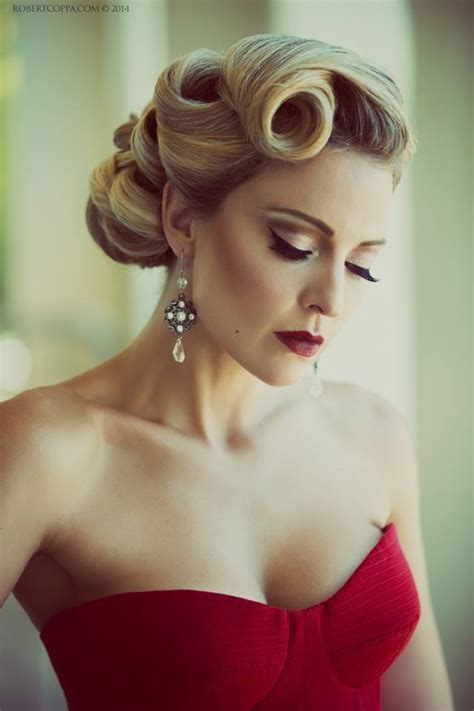 50s Vintage Hairstyles by 29 Stunning Vintage Wedding Hairstyles Mon Cheri Bridals