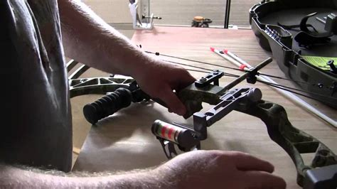 Mounting An Ams Bowfishing Reel And Kit To My Compound Bow