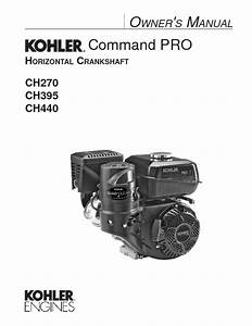 Command Pro Ch395 Manuals