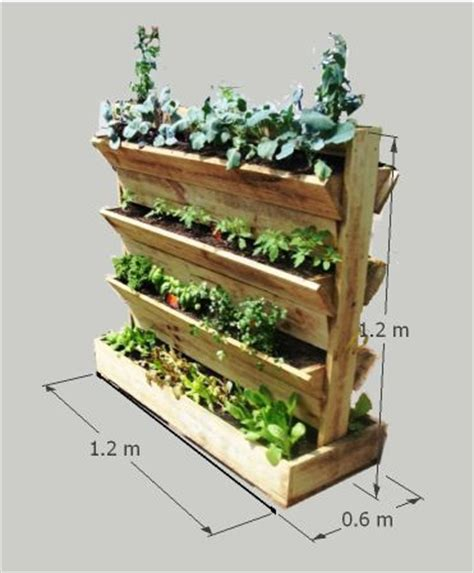 17 best ideas about vertical planter on