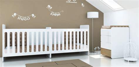 lit pour jumeaux bebes