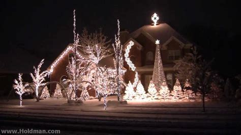 holdman christmas lights 2010 complete show youtube