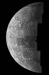 Space Images | Photomosaic of Mercury - Inbound View