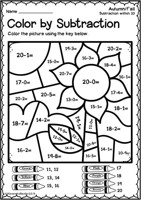 grade christmas subtraction worksheets