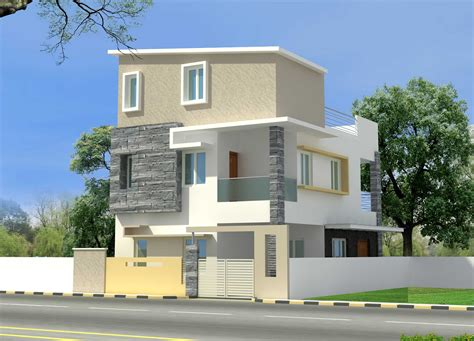 Single Floor House Front Wall Tiles Designs Plans Wrap