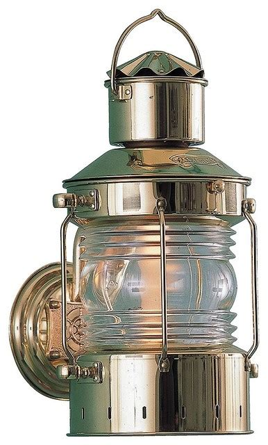 Nautical Sconces Indoor by Heavy Duty Nautical Anchor Sconce Solid Brass Indoor