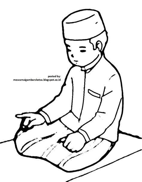 Game Wanita Dewasa Untuk Android Gambar Mewarnai Gambar Sketsa Kartun Anak Muslim 17 Shalat