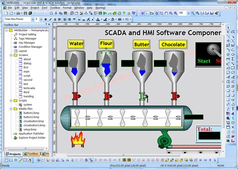 Visualization Suite For Hmi Scada Graphics Kit