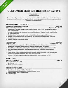 customer service representative resume template for With free resume templates for customer service representative
