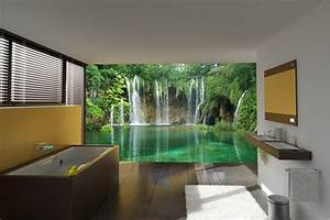 unique bathroom wall murals with additional home With awesome photo wall ideas for your house