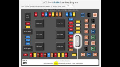 2005 Ford F 150 Xl Fuse Box Diagram by 2007 Ford F150 Fuse Box Diagram