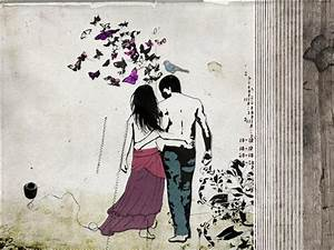 Digital print Vintage fine art print Love couple paintings