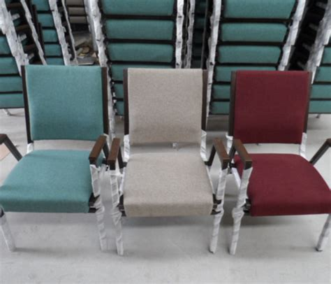 metal stacking church chair for sale buy used church