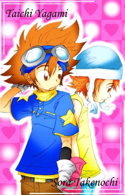 Pin by Daisuke3445 on Tai & Sora (Digimon) | Digimon ...