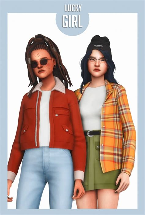 Lucky Girl Cc Pack At Clumsyalienn The Sims 4 Catalog