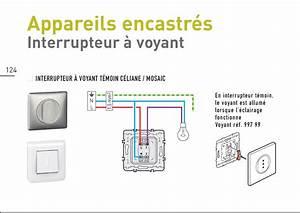 Branchement Interrupteur Temoin Lumineux Legrand : interrupteur lumineux ~ Dailycaller-alerts.com Idées de Décoration