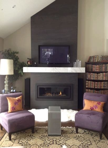 Fireplace: Neolith Basalt Black   Marble Trend   Marble