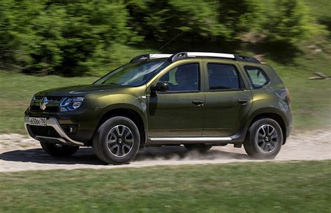 India Bound 2016 Renault Duster Unveiled In Russia