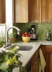 kitchen backsplash green green backsplash decozilla