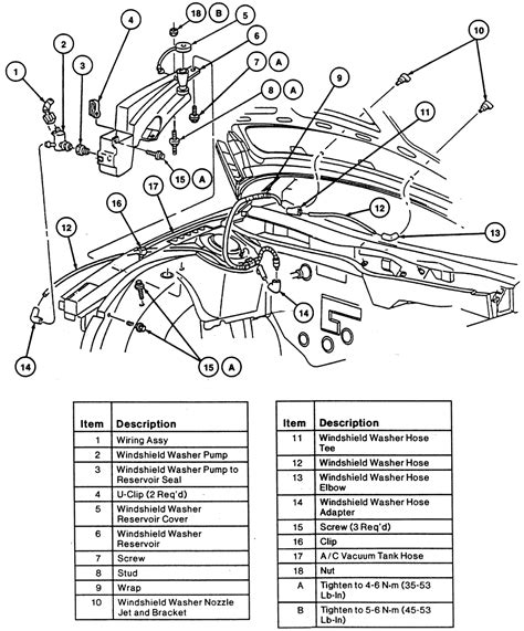 auto manual repair 2006 ford taurus windshield wipe control ford taurus 3 5 2008 auto images and specification