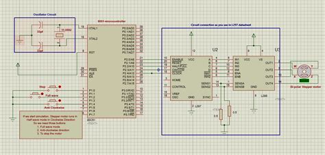 Electronics Guru How Interface Stepper Motor