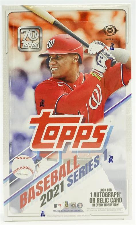topps series  baseball hobby box da card world