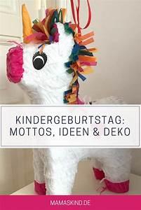 Geburtstag Deko Ideen : kindergeburtstag ideen motto deko mamaskind ~ Frokenaadalensverden.com Haus und Dekorationen