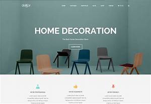 30 best interior designers furniture showroom wordpress for Interior decor wordpress theme